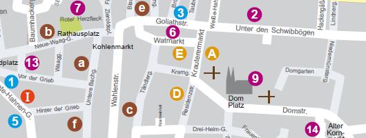 Regensburger Touristen Guide  « Stadtplan