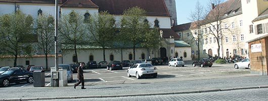 Regensburg: Old Corn market