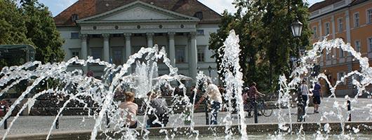 Regensburg: Bismarckplatz