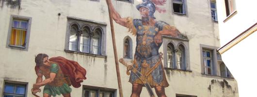 Regensburg: Goliath House
