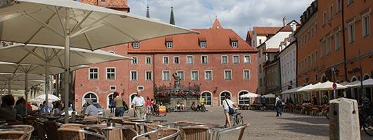 Regensburg: Haidplatz