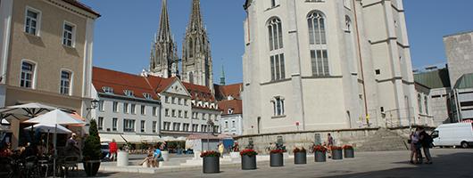 Regensburg: Neupfarrplatz