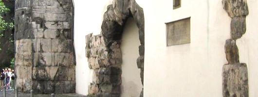 Regensburg: Porta Praetoria / Castra Regina