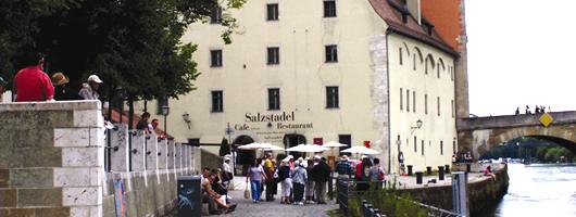 Regensburg: salt depot