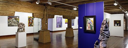 Regensburg: Städtische Galerie Leerer Beutel