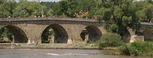 Regensburg: Stone Bridge